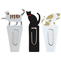 Graceful Kittens Silicone Rubber Reusable Index Tabs - Set of 3