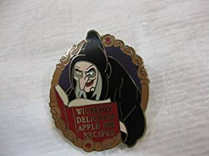 Disney Pin Where Evil Spells Are Always Broken Hidden Mickey Set- Old Hag