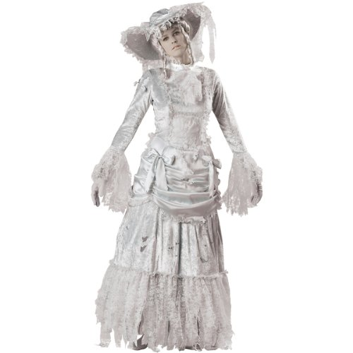 Ghostly Lady Costume - Medium - Dress Size 6-10