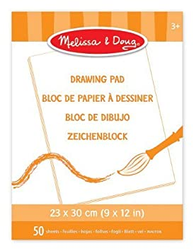 Melissa & Doug Drawing Pad (23 x 30 cm) by Melissa & Doug (English Manual)