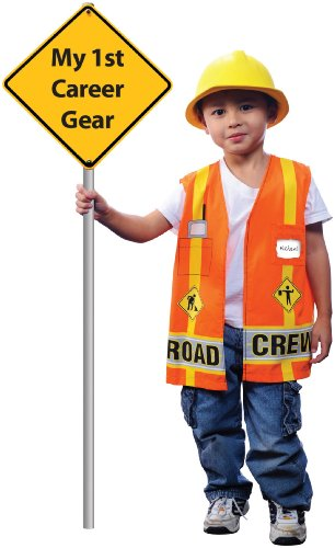 AEROMAX - My First Career Gear - Road Crew Toddler Costume
