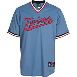 Majestic Athletic Minnesota Twins Rod Carew Replica Cooperstown Alternate Jersey by Majestic Athletic