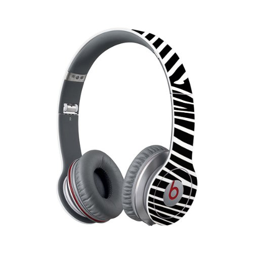 Beats Solo Full Headphone Wrap - Zebra (Headphones Not Included)