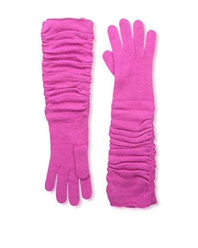 Portolano Women's Long Glove, Fuxia Fever