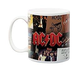 Aquarius AC/DC Albums Mug, 11 oz