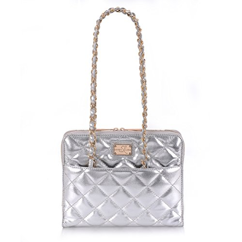 sandy-lisa-st-tropez-quilted-purse-carrying-bag-for-tablet-silver-gold