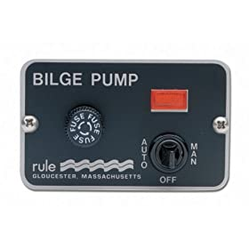 Rule 41 Marine Deluxe Panel Switch (12-Volt)