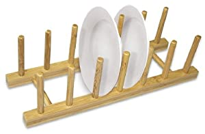 Home Basics Bamboo Dish Rack