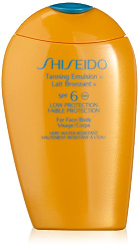 Shiseido Tanning Emulsion SPF 6, 150 ml - 150 ml