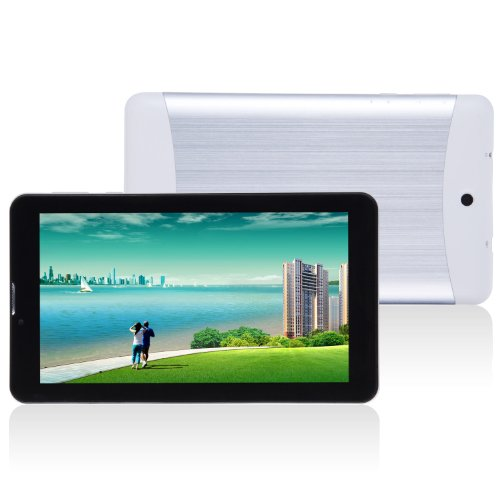 3G Vesion 7'' Dual Core Dual Camera Mtk6572 512M/4G Android Jelly Bean Os Gsm Wcdma Dual Card Dual Standby Tablet Pc With Agps Bluetooth Fm White