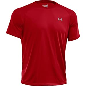 Under Armour Herren Fitness T-Shirt und Tank, Red, MD, 1228539-600