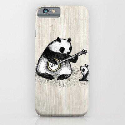 society6(ソサエティシックス) iPhone6(4.7インチ)ケースバンジョーパンダ Banjo Panda並行輸入品