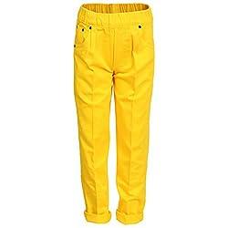Benext Boy's Trouser (1376_Yellow_Yellow_4 - 5 Years)