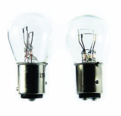 Camco 54799 6V Auto Park/Tail/Signal 1154 Bulb - Pack of 2