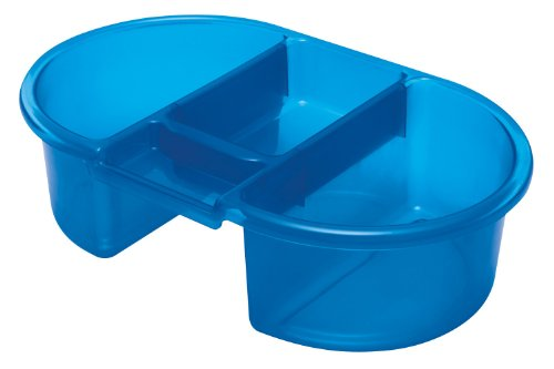 Imagen 1 de Tippitoes Top n Tail - Bañera para bebés, color azul