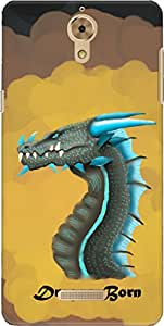 The Racoon Lean DROGON hard plastic printed back case/cover for Coolpad Mega 2.5D