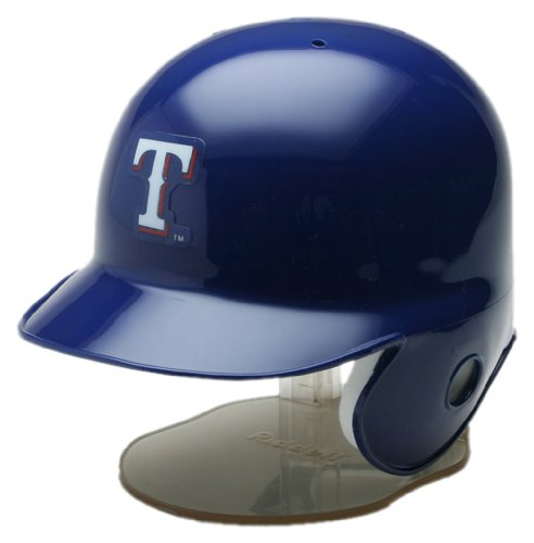 MLB Texas Rangers Replica Mini Baseball Batting Helmet at Amazon.com