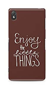 AMEZ enjoy the little things Back Cover For Sony Xperia Z3