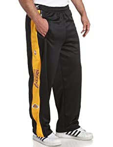 Los Angeles Lakers NBA Team Panel Pant With Zipway Shell (Small)