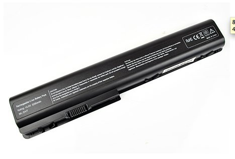 8 Cell Laptop Battery for HP Compaq 464059-362 480385-001 464059-141 hstnn-db75(Replacement)
