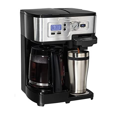 Coffee Maker: Hamilton Beach 2-Way FlexBrew Coffeemaker