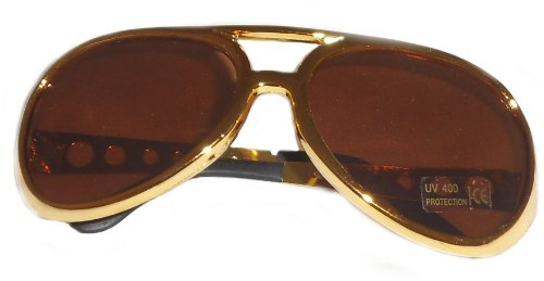 Rock Star Elvis Presley Rockstar Sunglasses Costume Accessory Designer Rims