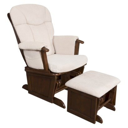 Baby Glider And Ottoman front-114894