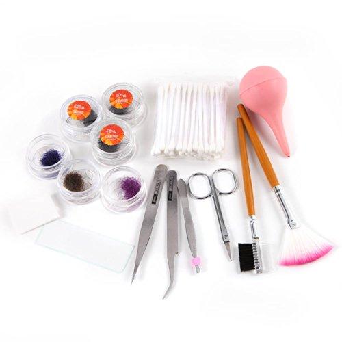 Professional Fake False Eyelash Eye Lashes Extension Kit Set Make Up Cosmetic