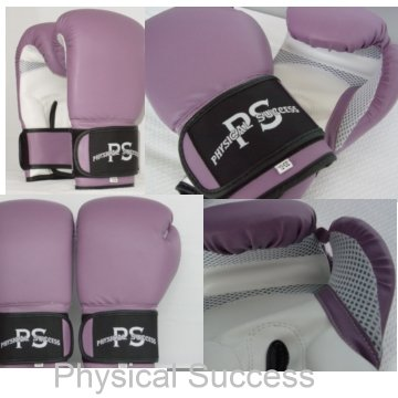Purple Boxing Gloves. 12oz