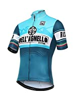 Santini Maillot Ciclismo Giro d'Italia 2016 Stage 19 Colle Dell'Agnello (Azul)