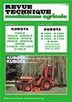 Revue technique machinisme agricole,...