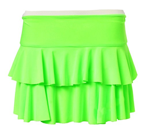 Womens Beautiful Neon Layered Ra-Ra Skirt.