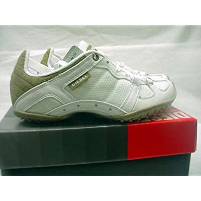 Amazon.com: Diesel Shoes Whitney Mesh All White Womens Size 6