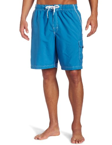 Speedo Men's Solid Marina Volley Watershort, Marine, X-Large