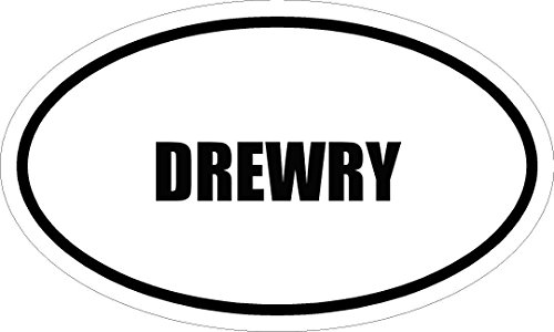 6-drewry-name-oval-euro-style-magnet-for-any-metal-surface