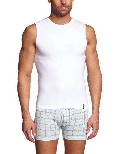 Skiny Herren Unterhemd SKINY Essentials Men / 6326 Hr. Tank Top, Gr. 8 (XXL), Weiß (0500 WHITE)