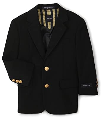 Nautica Dress Up Boys Navy Blazer