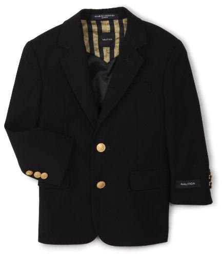 Nautica Little Boys' Navy Blazer,Navy,7
