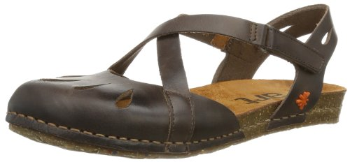 ART CRETA, Sandali donna, Marrone (Braun (BROWN)), 36