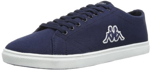 Kappa Mens ATOS Footwear men, Textile Low multi-coloured Mehrfarbig (6710 NAVY/WHITE) Size: 43