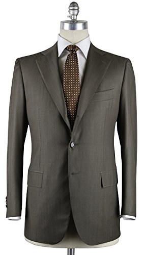 new-cesare-attolini-olive-green-suit-38-48