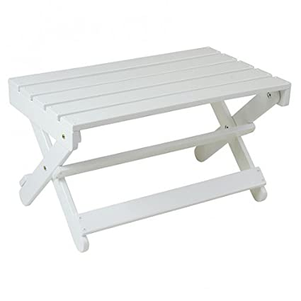 Manchester Wood Adirondack Coffee Table - Pure White