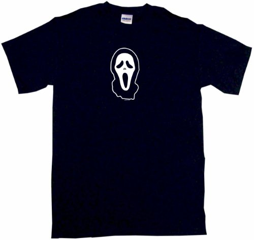 Scary Movie Mask Face Scream Big Boy's Kids Tee Shirt