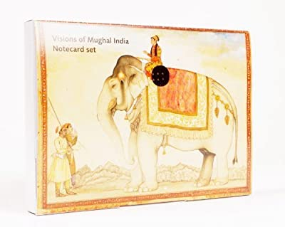 Visions of Mughal India Notecard Pack - Elephants