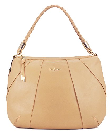 Cole Haan Womens Adele Hobo Shoulder Bag, Sandstone, One Size (Cole Haan Key compare prices)