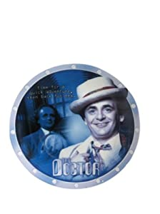 The 7th Doctor - Sylvester McCoy - Special Limited Edition Dr Who Collectors Plate