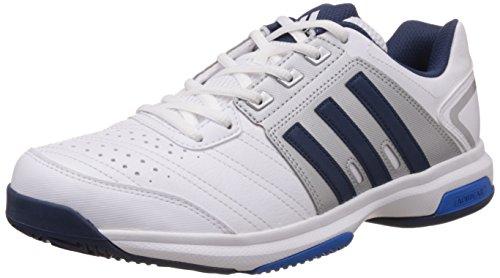 adidas Unisex-Erwachsene Barricade Approach Str Tennisschuhe, Weiß, 42 EU