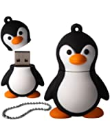 Igloo Clé USB 2.0 Bébé pingouin Noir/blanc 8 Go