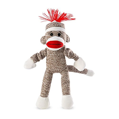 Sock Monkey Flying Screaming Slingshot Toy