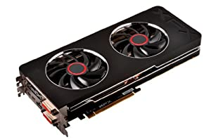 XFX RADEON Double D R9 280X 1000MHz BOOST Ready 3GB DDR5 2XmDP HDMI 2XDVI Graphics Cards R9-280X-TDFD